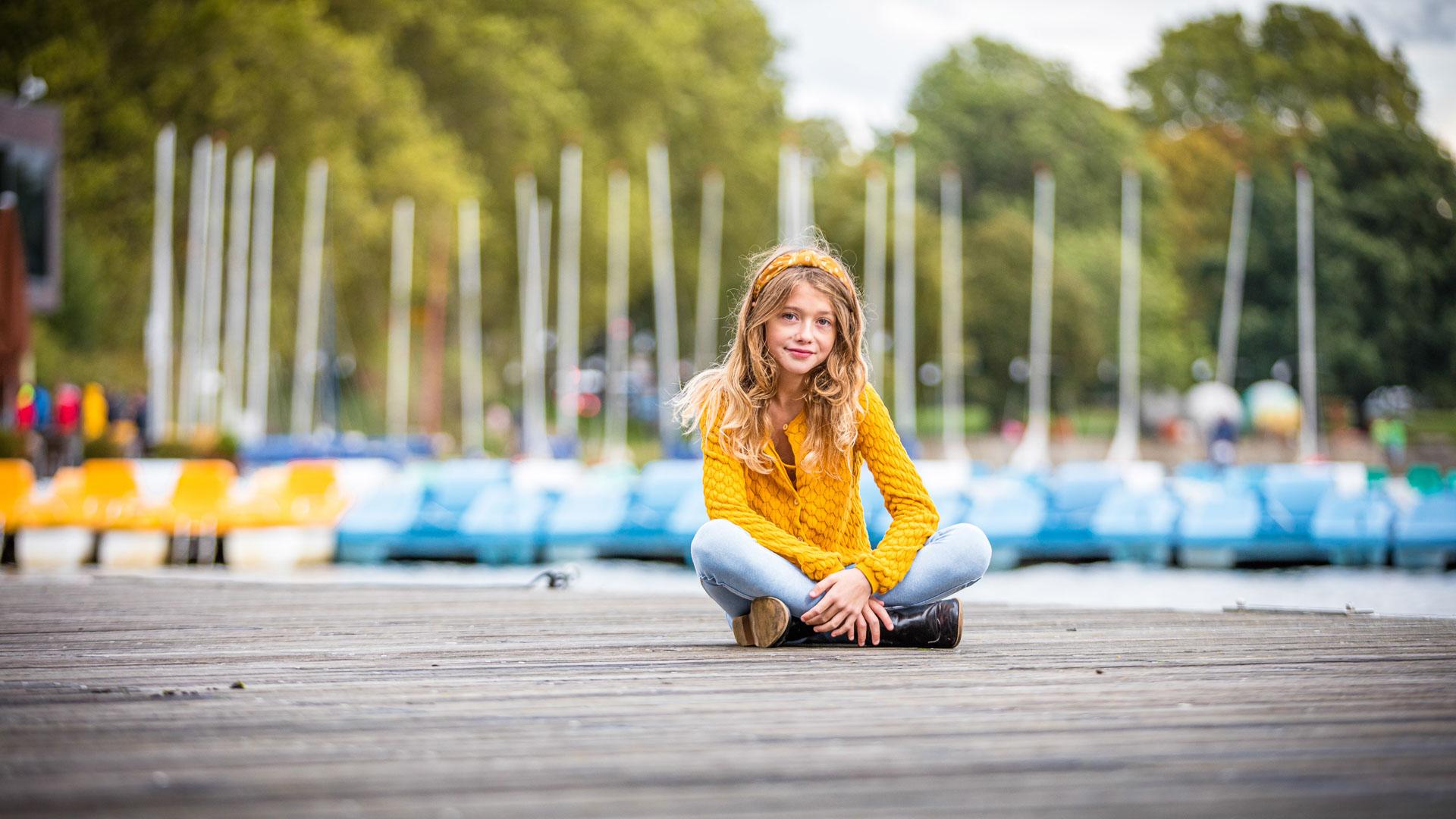 Kindershooting am Aasee in Münster